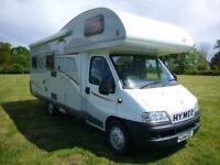 Hymer Classic 644 (C644) (2006) 6 Berth Fiat 2.8 Manual U shaped Lounge, Awning