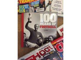 Football books, DVD's, Manuals, Magazines etc. etc 50+ items