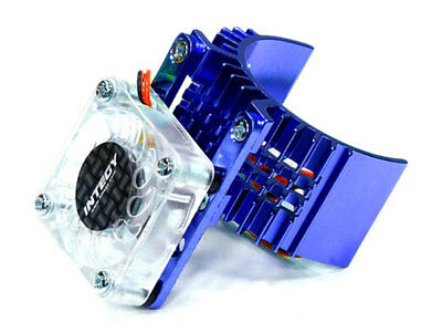 Integy Alum 540 Motor Heatsink w/ Cooling Fan for Slash/Stampede/Rustler/Bandit - Fan Cool Motor
