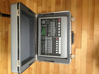 Roland VS-840 Digital Studio with roland hardcase and mic cable.