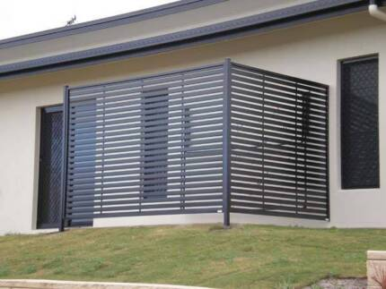 Quality Aluminium Privacy/ Batten Screens West Ipswich Ipswich City Preview