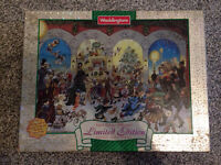 "Waddingtons Limited Edition Double Sided Puzzle ""The Twelve Days of Christmas"" 1000pcs"
