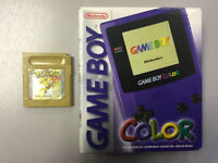 Boxed Nintendo Gameboy colour with Pokemon gold