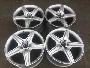 """Genuine OEM Mercedes benz AMG 20"""" rims in good cond S63 CL63"""