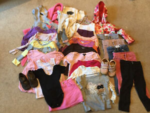 Huge lot of girl clothing, size 2