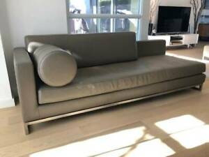 Beautiful contemporary 18 Karat Leather Sofa