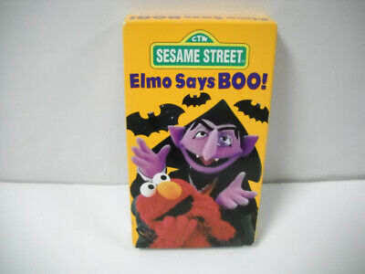 Say Boo Halloween Song (Vintage Sesame Street Elmo Says Boo! Halloween VHS Tape With 5 Songs 1997)
