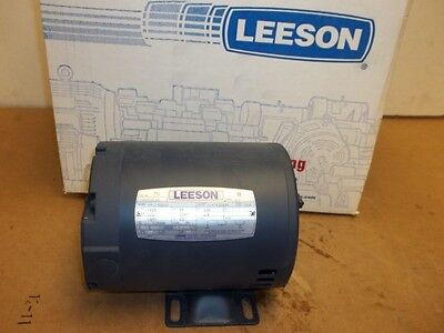 New - Leeson 13hp 230v 50hhz 1425 Rpm Electric Motor 101535.00