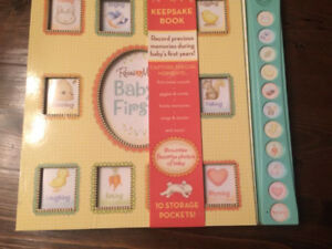 Baby keepsake book - new