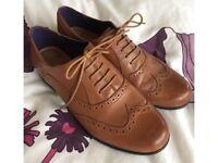 Ladies Brogues - Clarks - Size 7