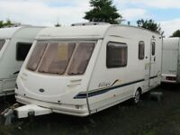 2004 STERLING EUROPA 520 TOURING CARAVAN 4 BERTH