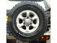 Mitsubishi Alloy Wheel & 31 10.5 15 tyre 6 stud 4x4 fits most Jap vehicles Isuzu Hilux
