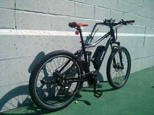 eRanger Full Suspension Electric Mountain Bike Mid Drive