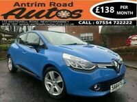 2014 RENAULT CLIO 1.2 DYNAMIQUE MEDIA-NAV ** LOW MILES ** BUY FROM HOME TODAY GET FREE DELIVERY