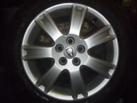 ROVER 75 / MGZT MK2 FACELIFT 7 SPOKE 16 inch ALLOY WHEELS NEW AND USED ALSO VAUXHALL VW FIAT