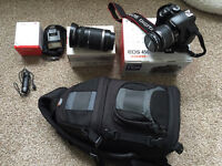 Canon 450D plus lenses and accessories.
