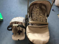 Mother Care Xpedior Pram and Pushchair travel system Tusk Special Edition