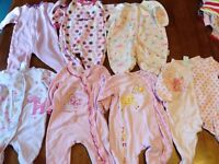 lot of girl clothes 6-9 months