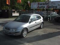 2002 ROVER 25 1.4 SPIRIT, IDEAL 1ST CAR, LOW INSURANCE GROUP, GOOD FUEL ECONOMY
