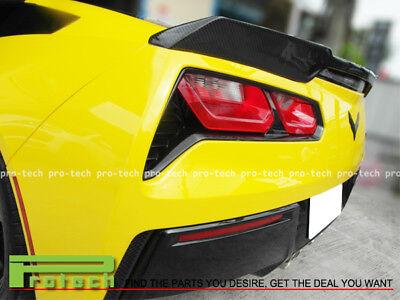 2014-2018 Corvette C7 JPM Stingray Carbon Fiber Trunk Spoiler Lip Chevrolet  for sale  Shipping to Canada