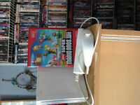 Wii Console with Super Mario Bros Wii