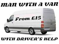 MAN WITH VAN & RUBBISH/ CLEARANCE/ WASTE REMOVAL SERVICES
