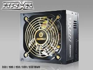 Enermax 500W NAXN SATA Power Supply - 6 SATA - 24P - 4+4P - 6+2P (8P) PCI-E - ENP500AST