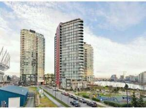 Exclusive Yaletown's Waterfront: Mariner - 2BD 1BA