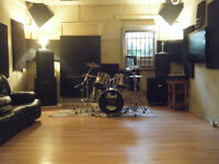 Excellent Music Rehearsal Studios for Hourly Rent