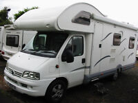 6-BERTH MOTORHOME LOW MILEAGE