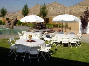 Party & Event Rental- Chairs,Tables,Linen, chafers....