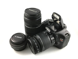 Canon T2i (550D) + 3 lenses + Flash + Misc Accesories for Sale