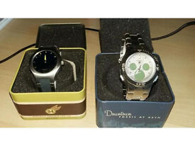 """Mens Fossil """"Big Tic"""" and """"Blue"""" Watches"""