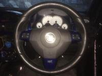 Astra VXR steering wheel