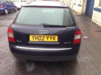 2002 AUDI A4 1.9 TDI ESTATE HEAD GASKET PROBLEM STILL RUNS AND DRIVES