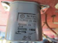 GE paper in oil capacitors for tube amps