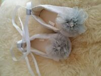 jewelled ballet flat shoes