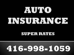 Car Insurance - Super Rates & Super Savings 416-998-1059