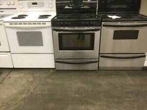 """30"""" Stainless Steel Frigidaire Gas Range Stove"""