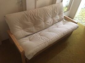 Futon Company - 3 Seater Sofa Bed with drawer