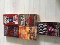 Assorted books mainly Anne rice