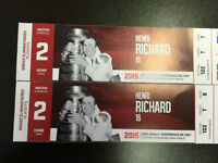 Billets Canadiens/Tampa, Game 2 dimanche 3 mai, Rouge 102 T