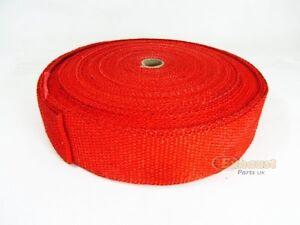 30 m tres echappement rouge isolant thermique collecteur for Ruban isolant thermique fenetre