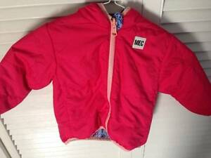 Near New MEC reversible winter jacket with matching hat/mitts