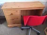 Dressing table with chair-Free delivery