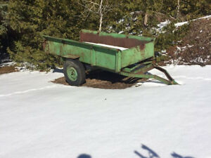 Farm / yard trailer