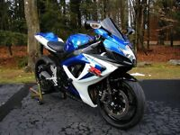2007 GSXR 750 FOR SALE IN MINT CONDITION