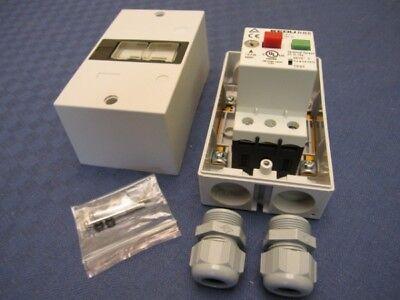 KEDU Motorschutzschalter RB6 10-16A, Komplettgerät im Gehäuse IP55