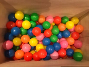 Ball pit balls. 99 balls for $10. Barely played with.