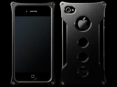 Abee Aluminum Jacket For iPhone 4 Font 07 Sliver